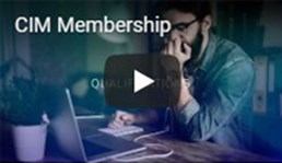 Become a CIM member